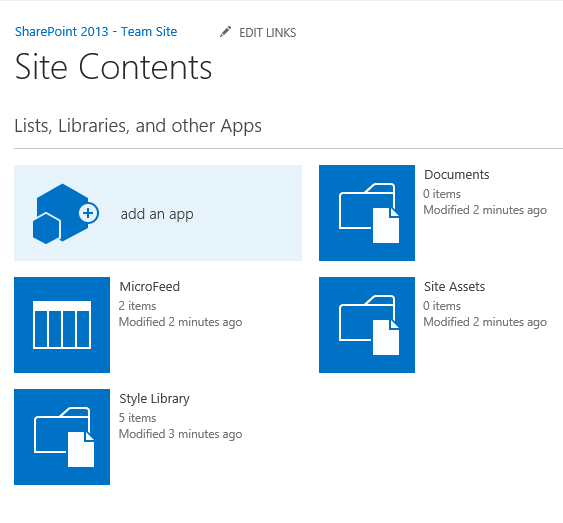 Oob creating your own custom tiles in sharepoint 2013 for Sharepoint 2013 document library template