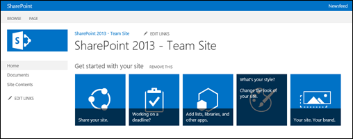 OOB: Creating Your Own Custom Tiles in SharePoint 2013 (1/6)