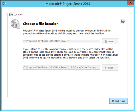 Step by Step: Install, configure, and Deploy Project Server 2013 - Part 2: Install and Configure Project Server 2013 (6/6)