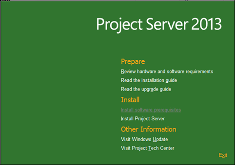 Step by Step: Install, configure, and Deploy Project Server 2013 - Part 2: Install and Configure Project Server 2013 (2/6)