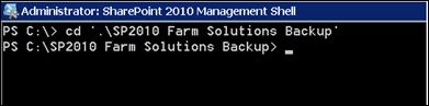 Export and/or Import All Farm Solutions in SharePoint 2010/2013 Farm using PowerShell (3/6)