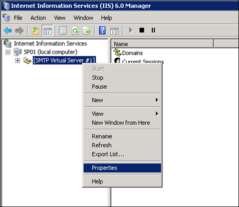Configure Outgoing E-Mail Settings for SharePoint 2010